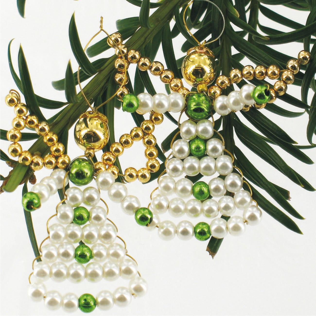 6 perlenengel im set zauberhafter perlen weihnachtsschmuck weihnachtsschmuck. Black Bedroom Furniture Sets. Home Design Ideas