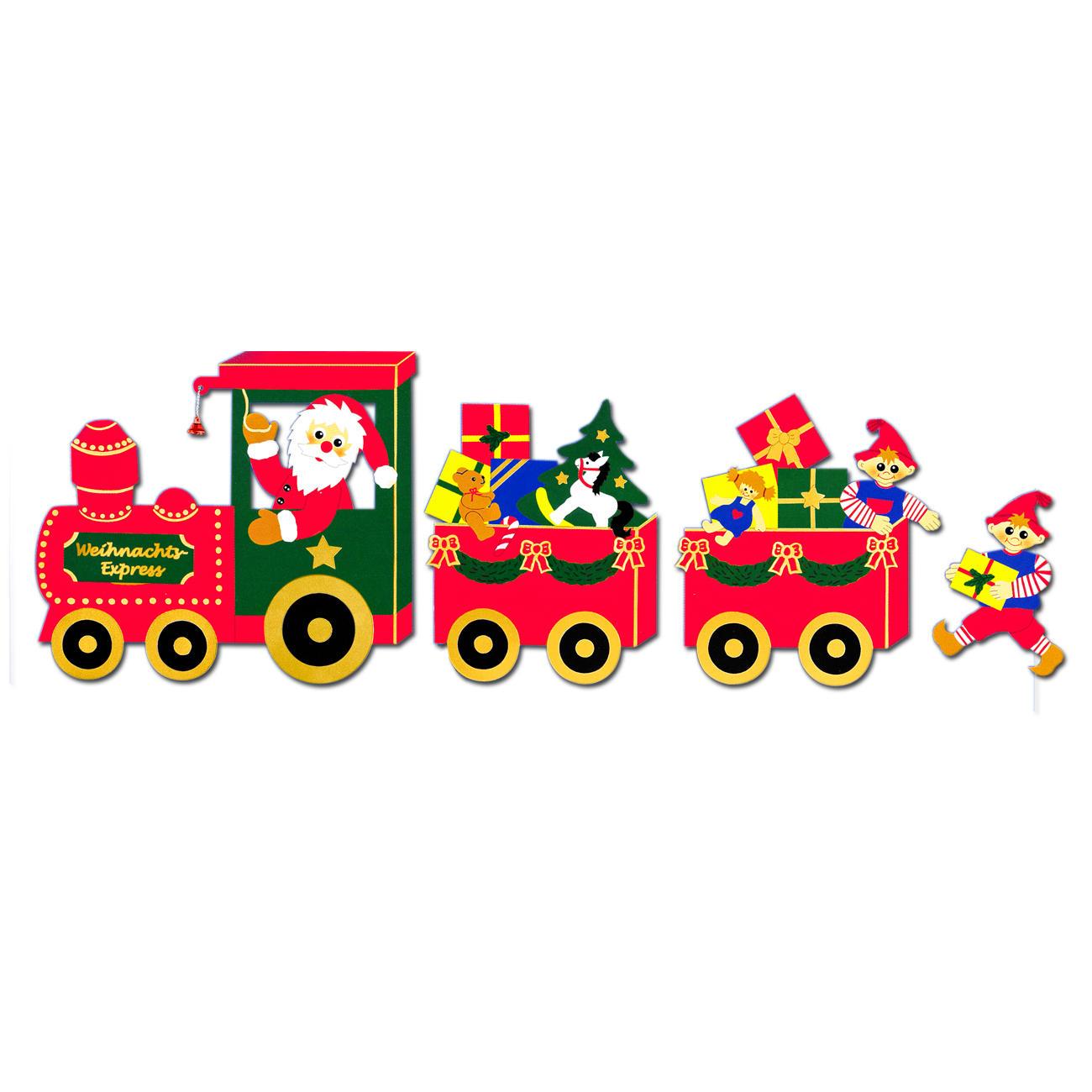 Weihnachtliche fensterbilder weihnachts express - Weihnachts fensterbilder basteln ...