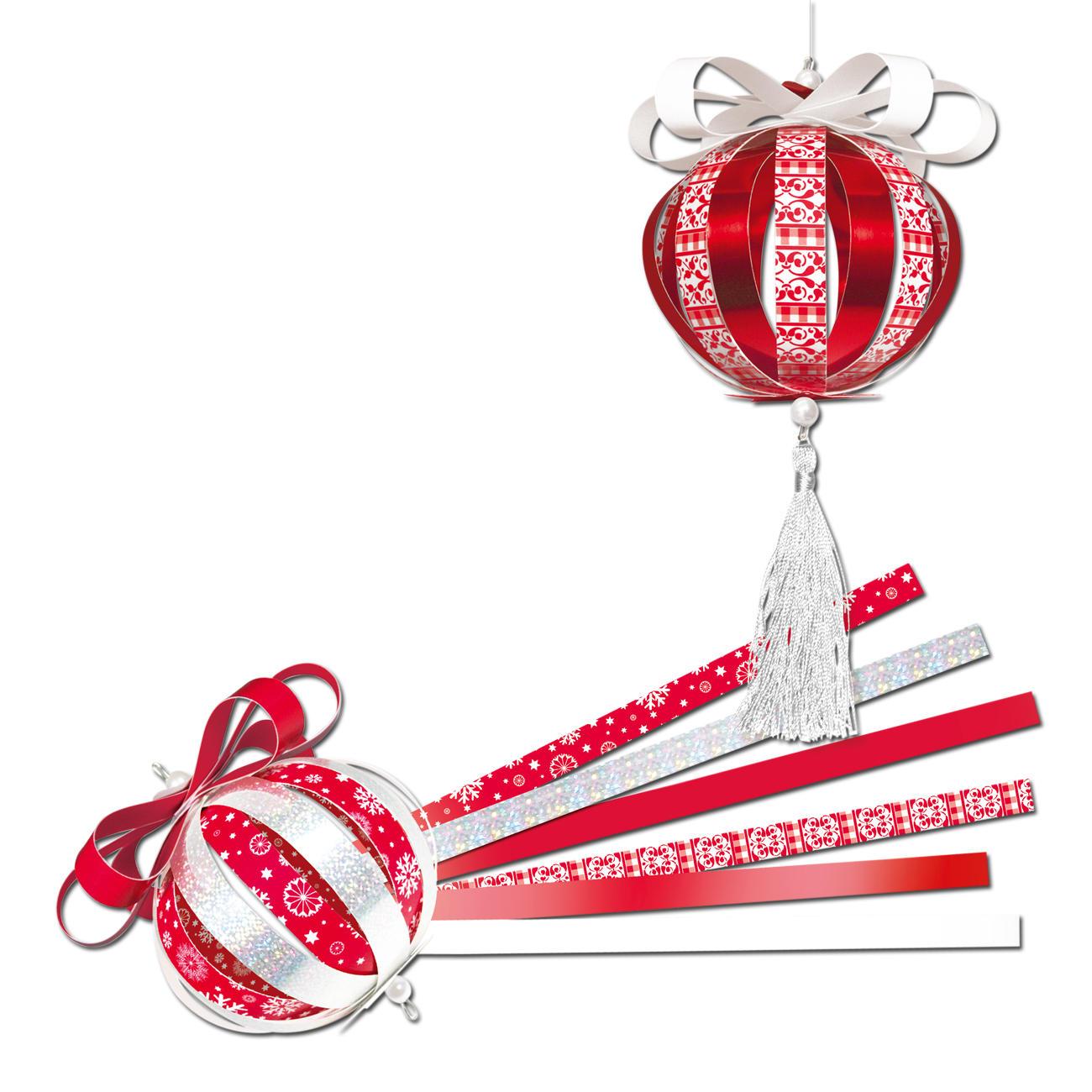 Mini paper balls weihnachten - Papierkugeln basteln ...