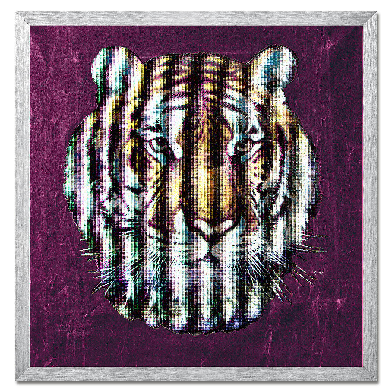 diamond painting tiger. Black Bedroom Furniture Sets. Home Design Ideas