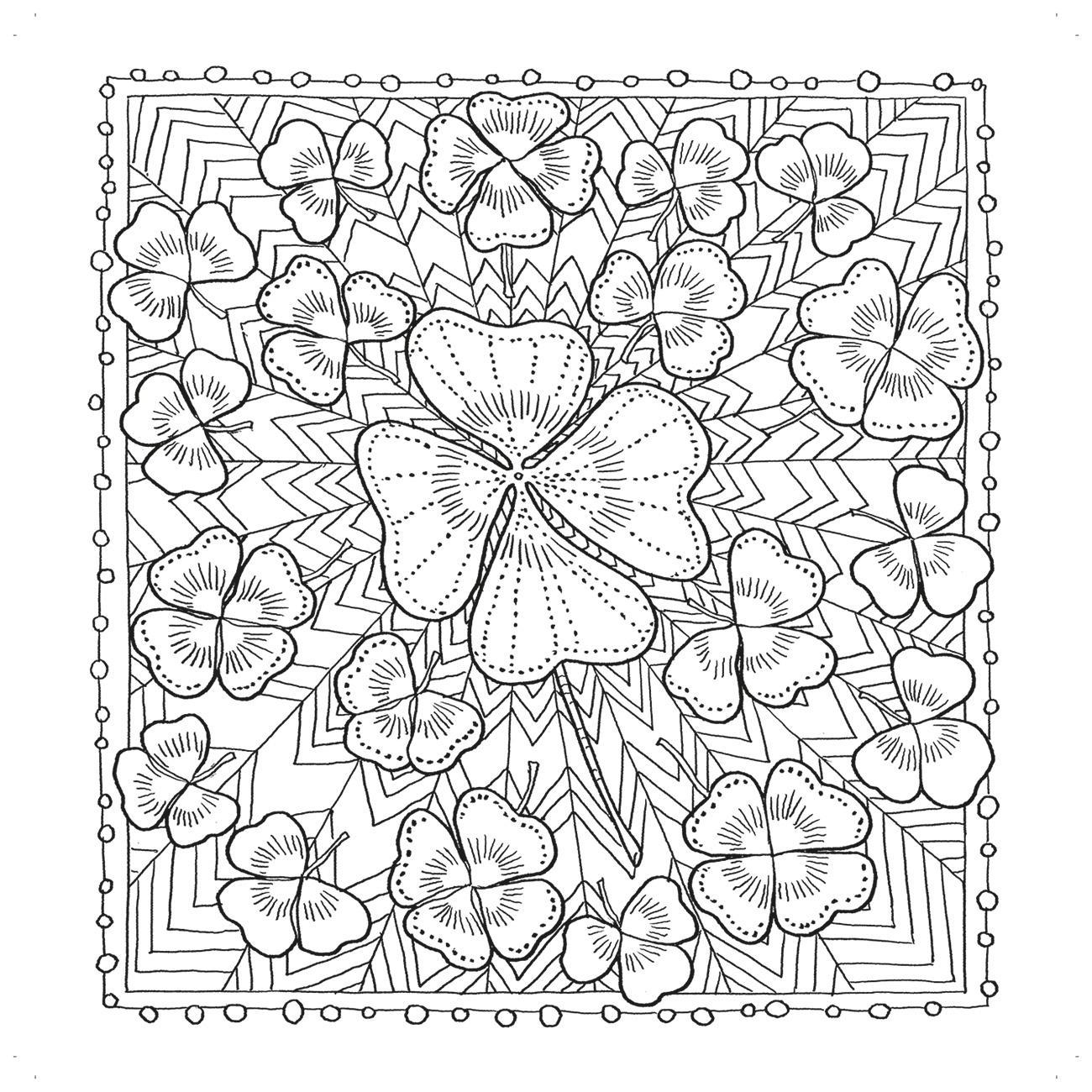 zencolor ausmalbuch mit natur und gartenmotiven