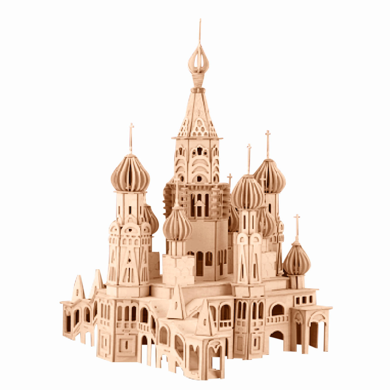 3d holz puzzle st petersburg kathedrale. Black Bedroom Furniture Sets. Home Design Ideas