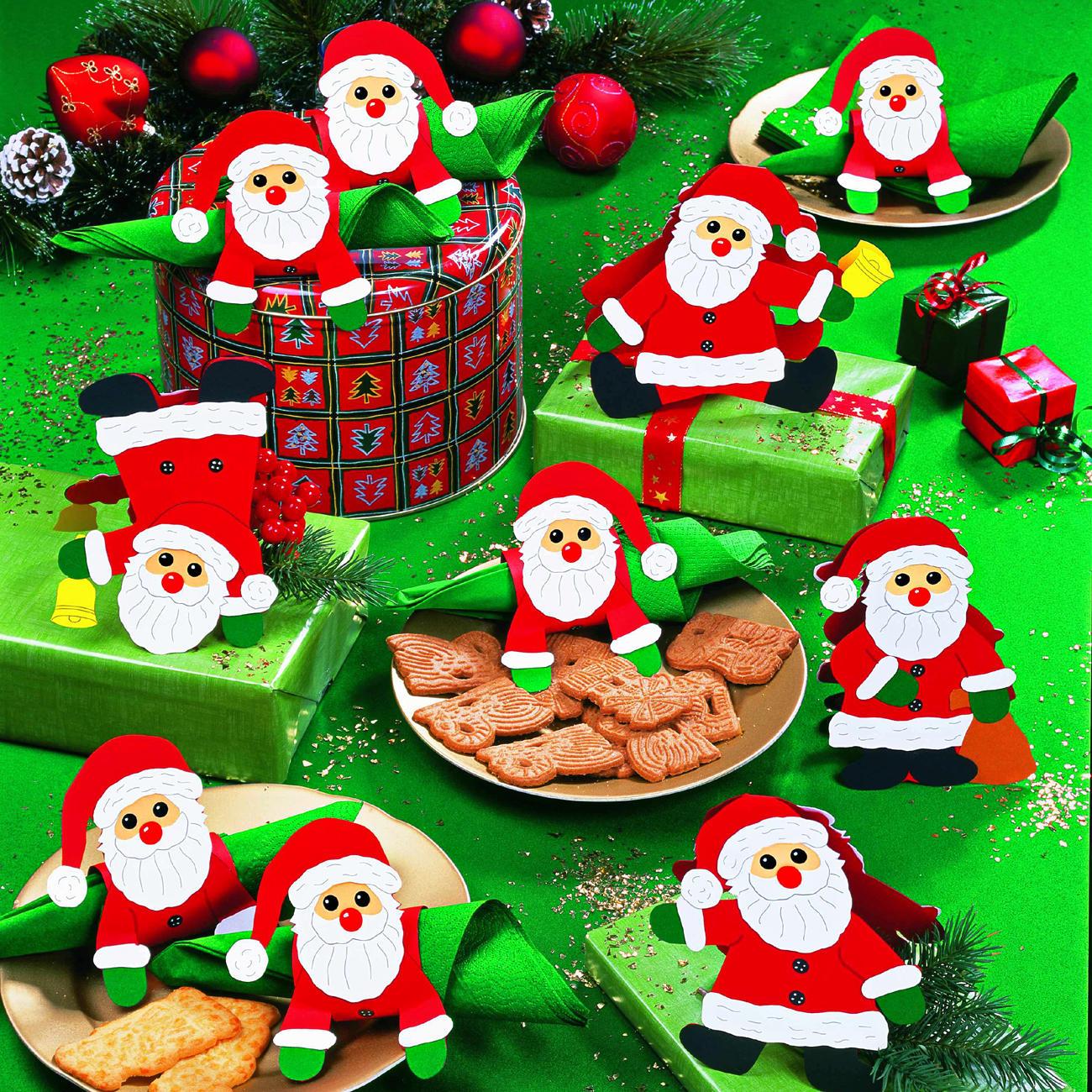 weihnachtliche tischdeko komplettpackungen rund ums papier basteln im junghans wolle. Black Bedroom Furniture Sets. Home Design Ideas