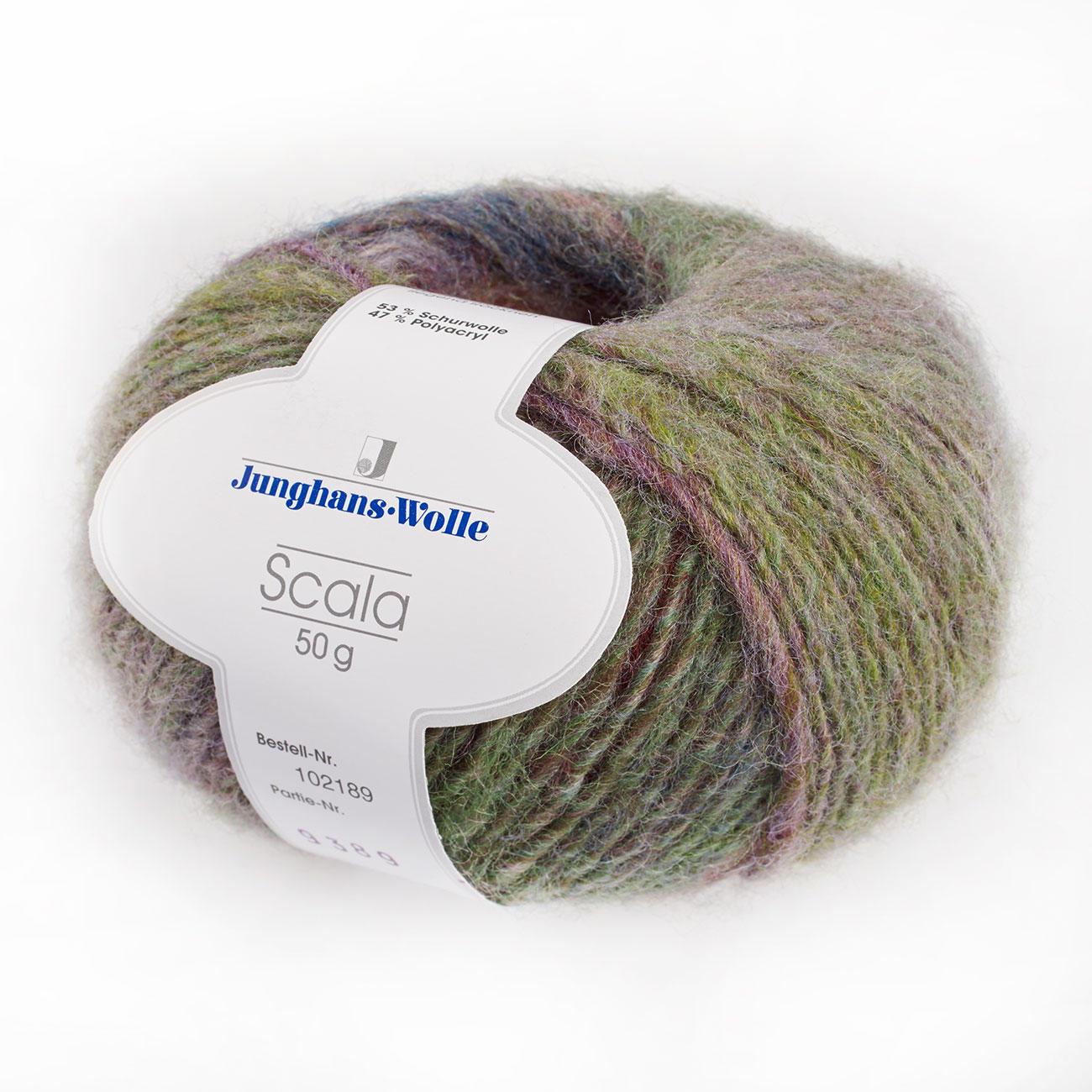 Scala von Junghans-Wolle, 12 versch. Farben