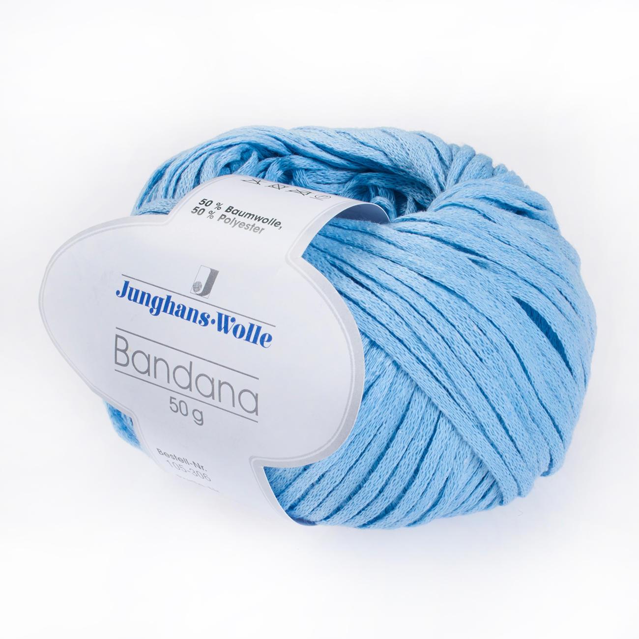 Bandana von Junghans-Wolle, 25 versch. Farben