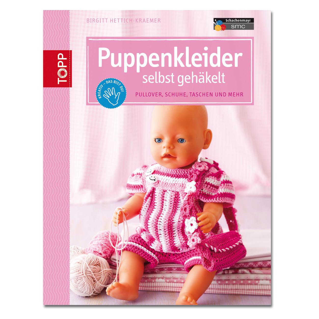 Buch - Puppenkleider selbst gehäkelt