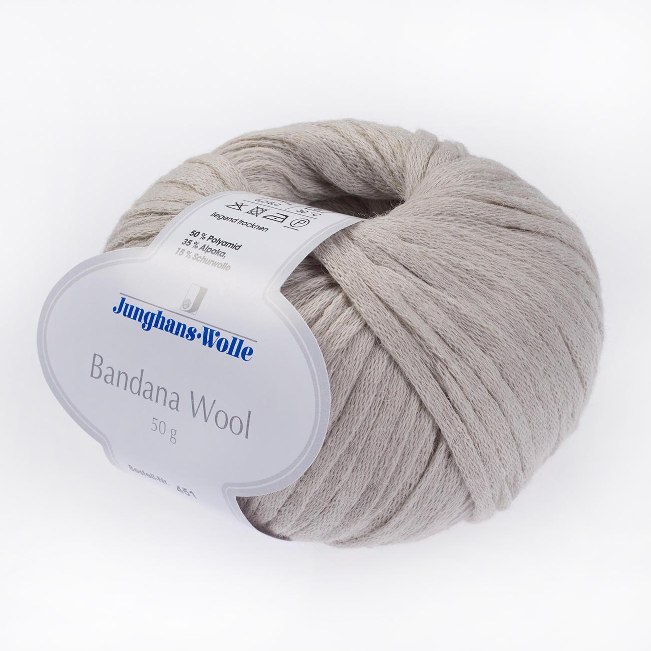 Anleitung 428/7, Damen-Cape aus Bandana Wool von Junghans-Wolle, 1 ...