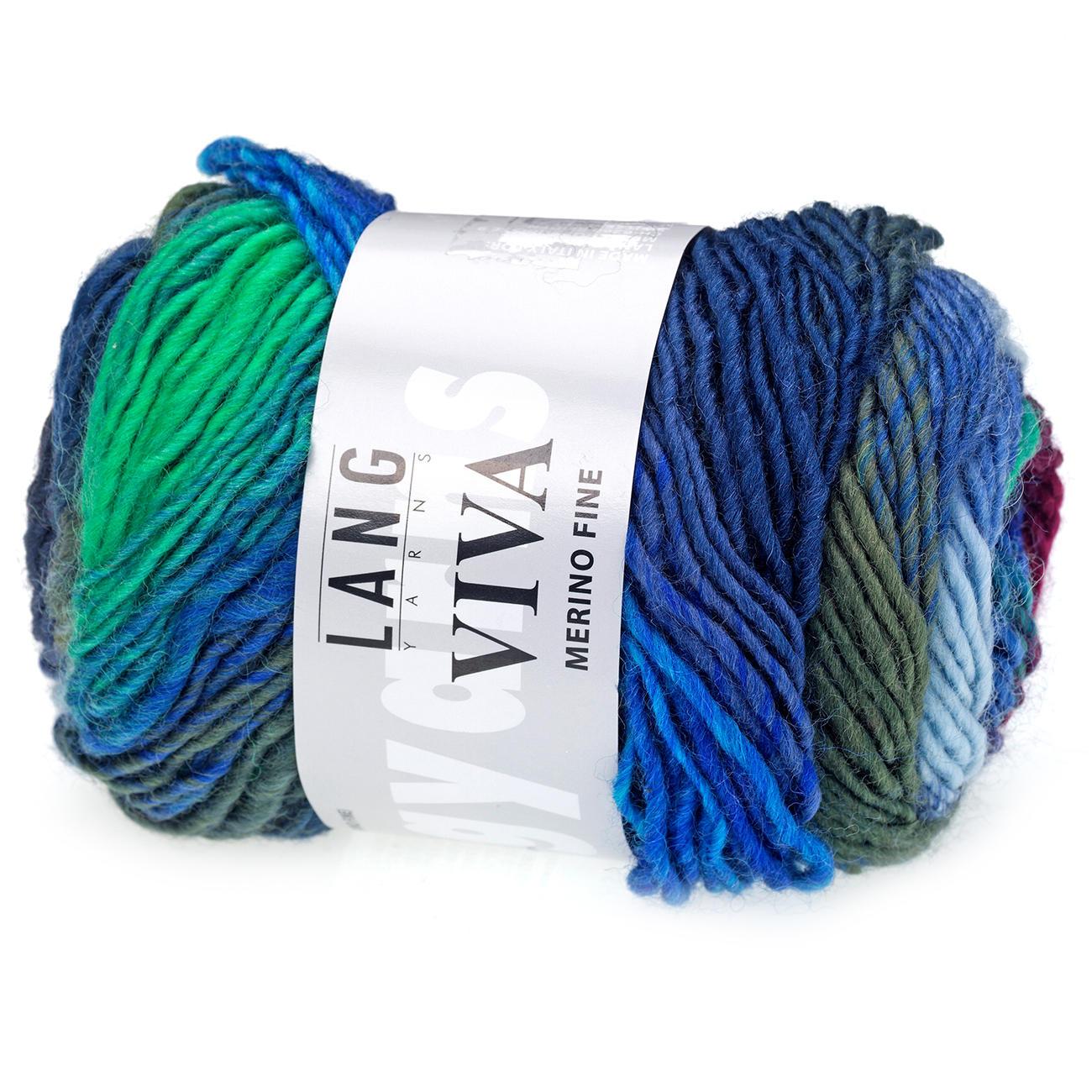 Lang Yarns Viva 51 LL 110m 50g Nadelstärke 4,5-5