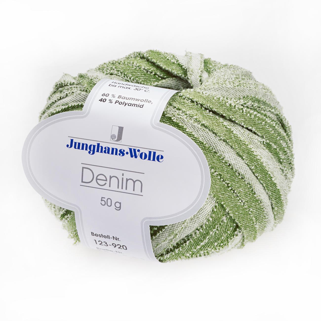 Denim von Junghans-Wolle, 6 versch. Farben