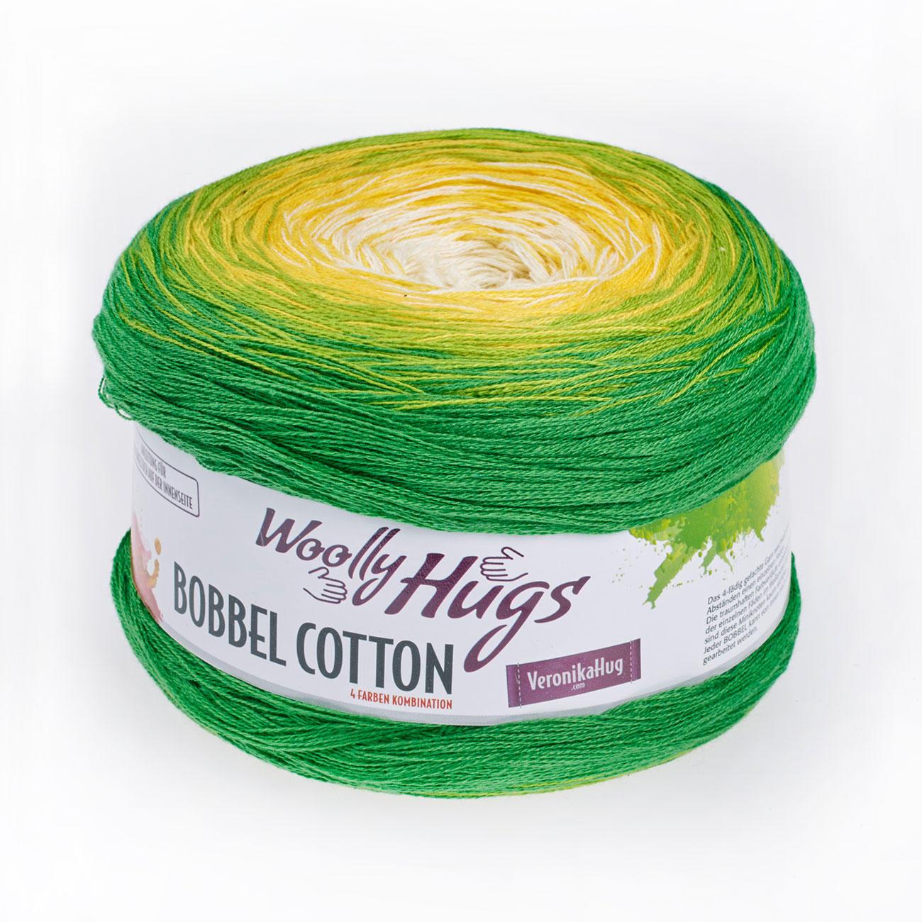 Bobbel Cotton von Woolly Hugs, 29 versch. Farben