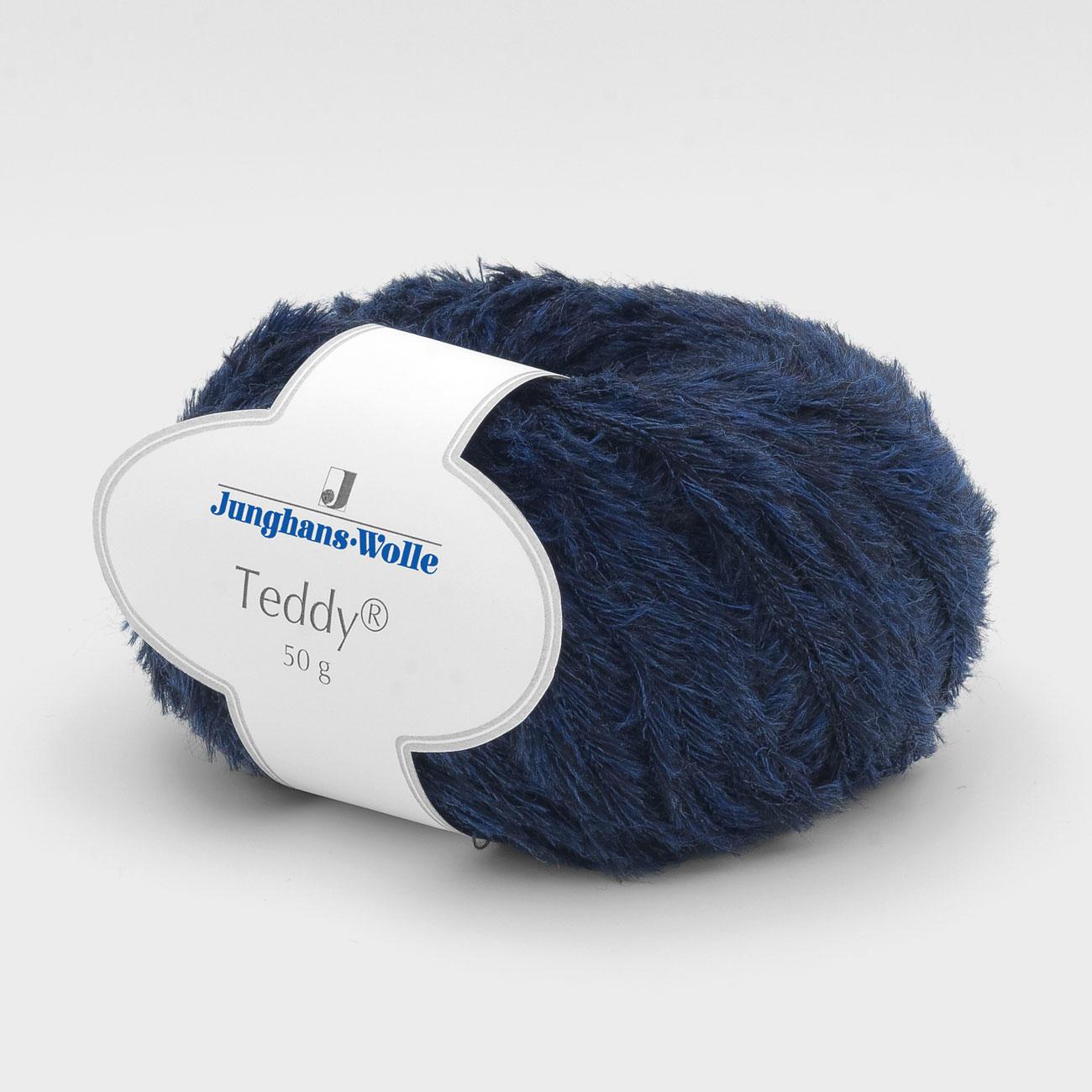 Teddy Von Junghans Wolle 5 Versch Farben