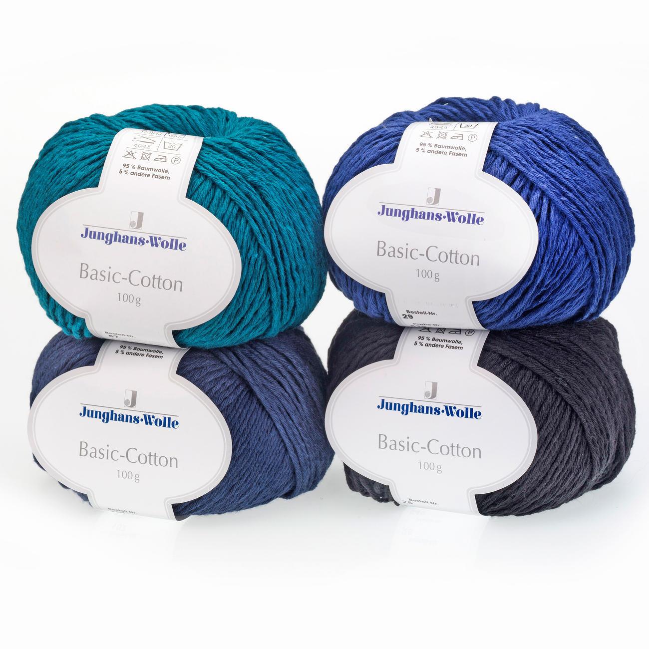 Basic cotton von junghans wolle 8 versch farben - Junghanns wolle ...