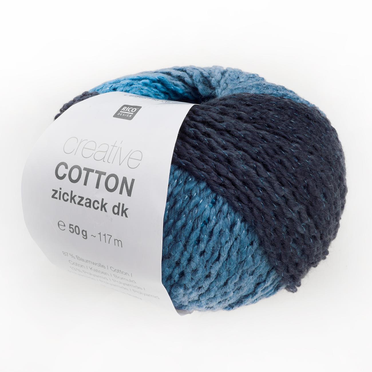 Creative Cotton Zickzack Von Rico Design