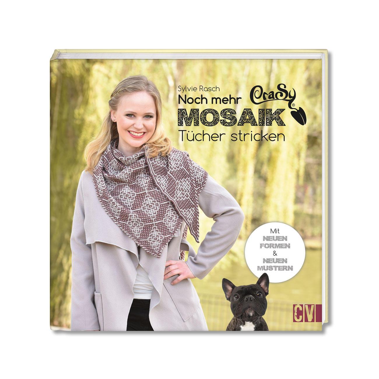 Buch Crasy Mosaik Noch Mehr Tücher Wir Lieben Crasy Tücher