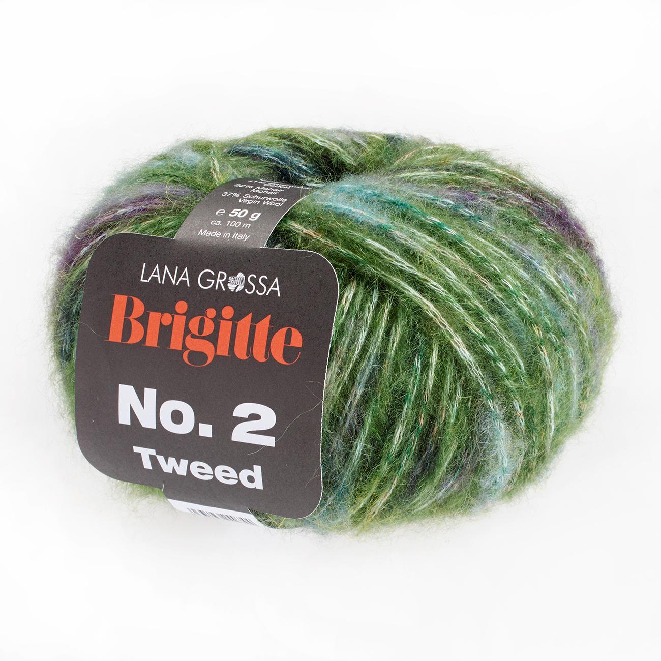 Lana Grossa Brigitte No.1 super weiche Wolle mit Cashmere 50 g viele Farben