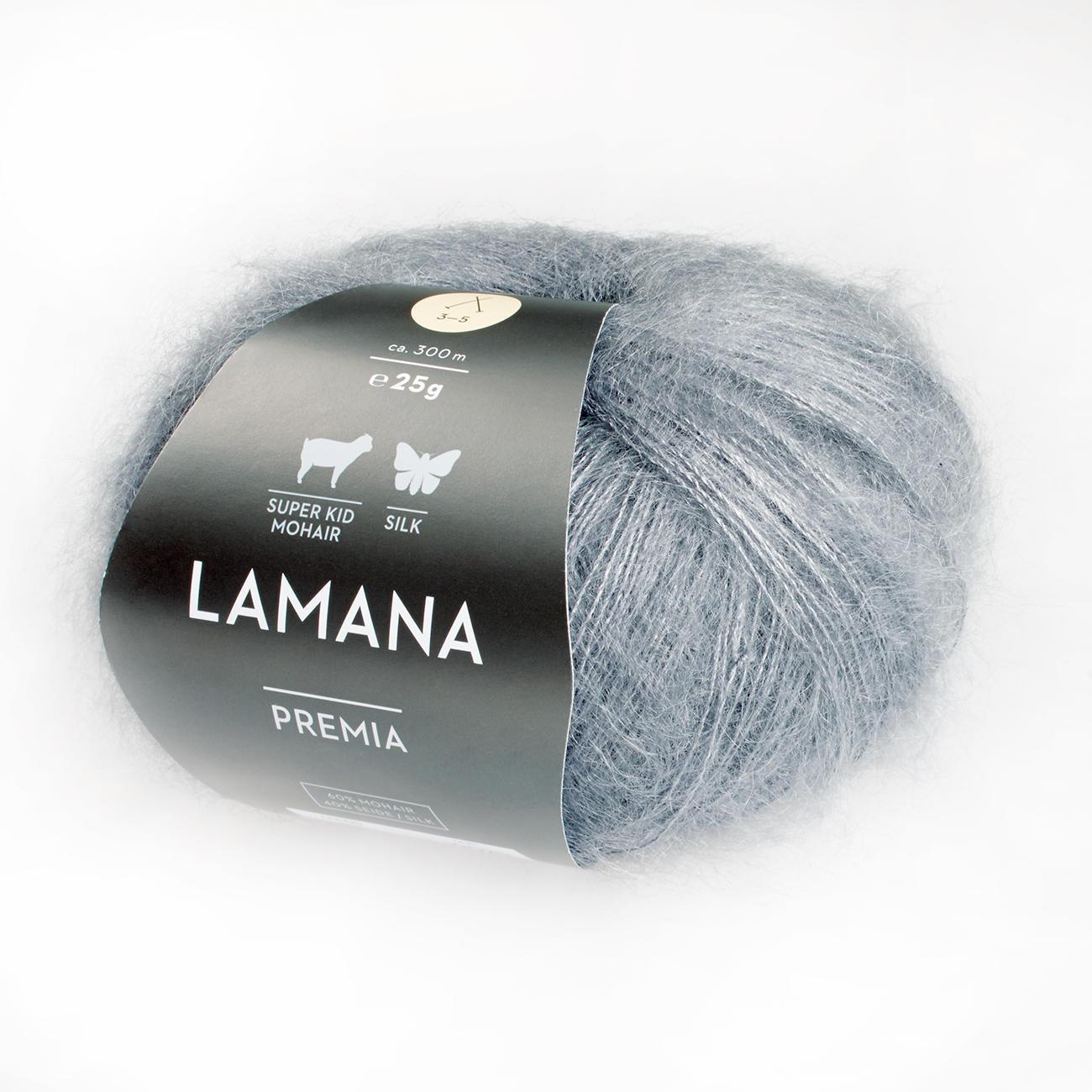 Wolle Lamana GmbH Premia Burgund 11 x 10 x 4 cm