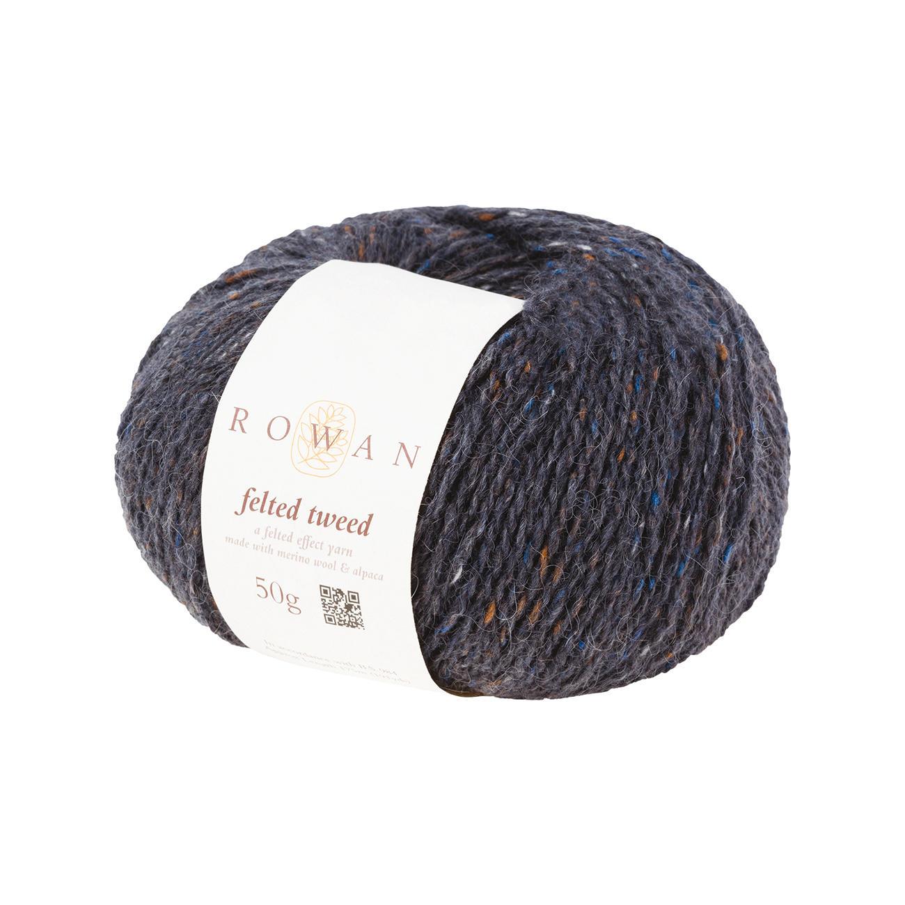 Anleitung 129 0 Pullover Aus Felted Tweed Von Rowan 1