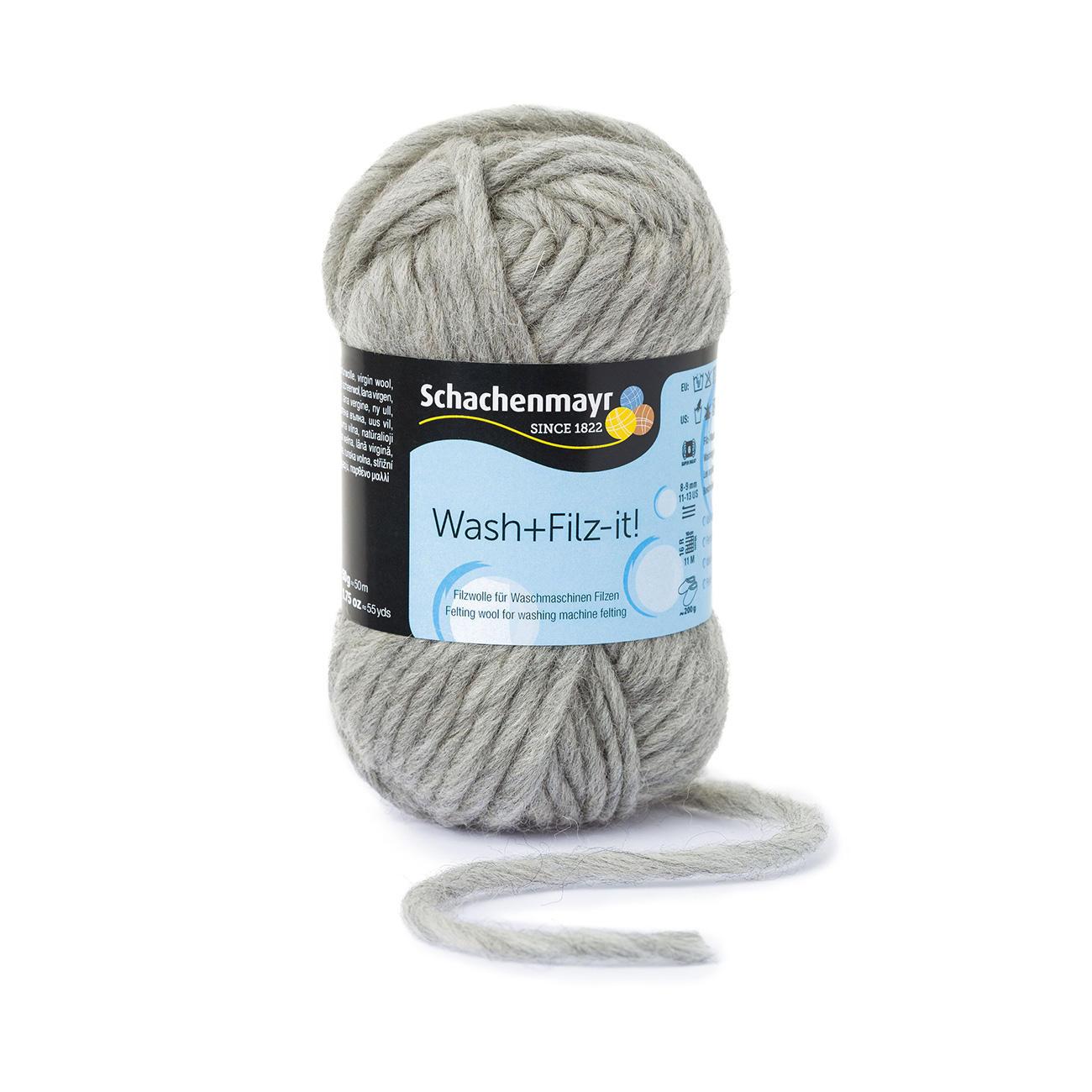 Washfilz It Von Schachenmayr Smc 19 Versch Farben