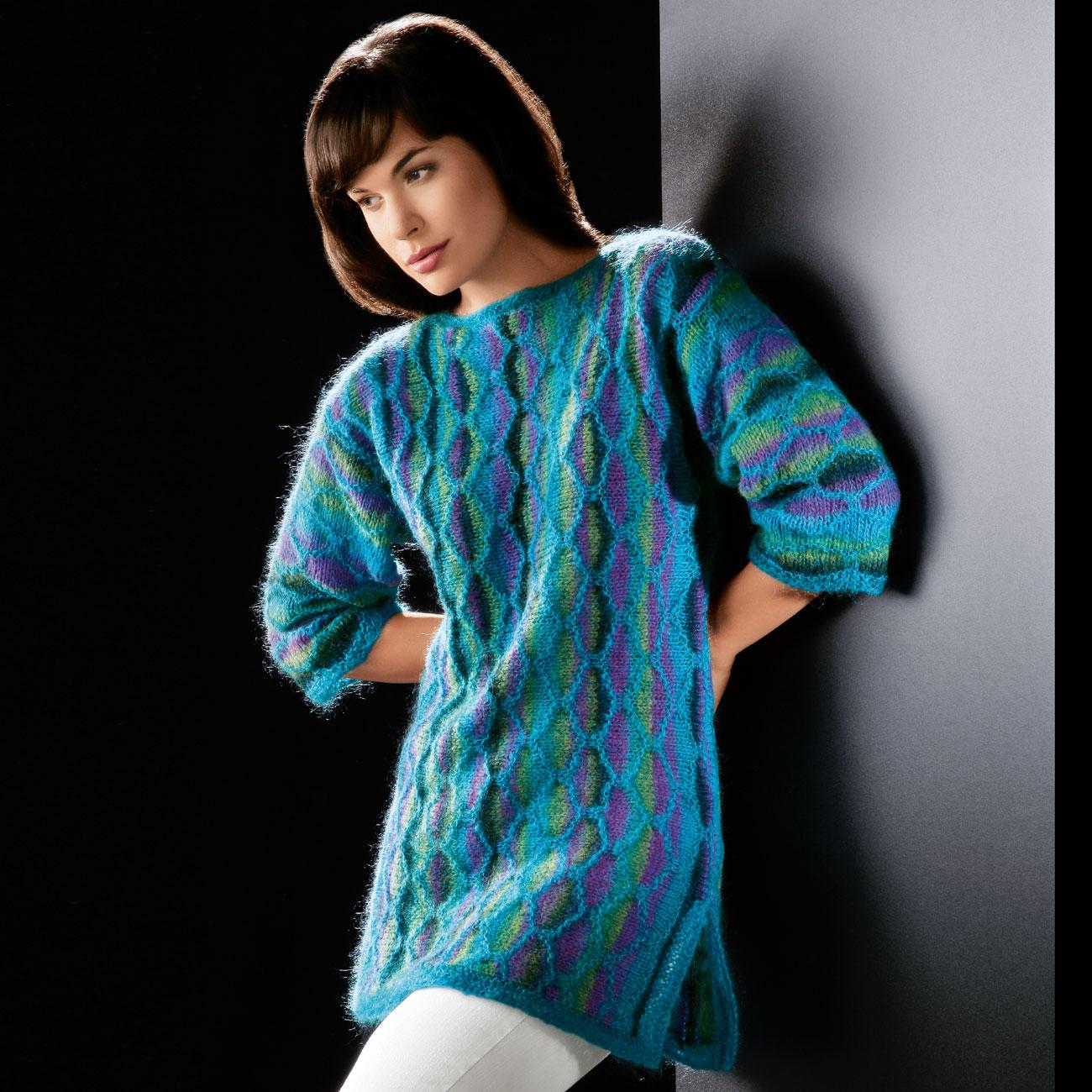 Цветное вязание