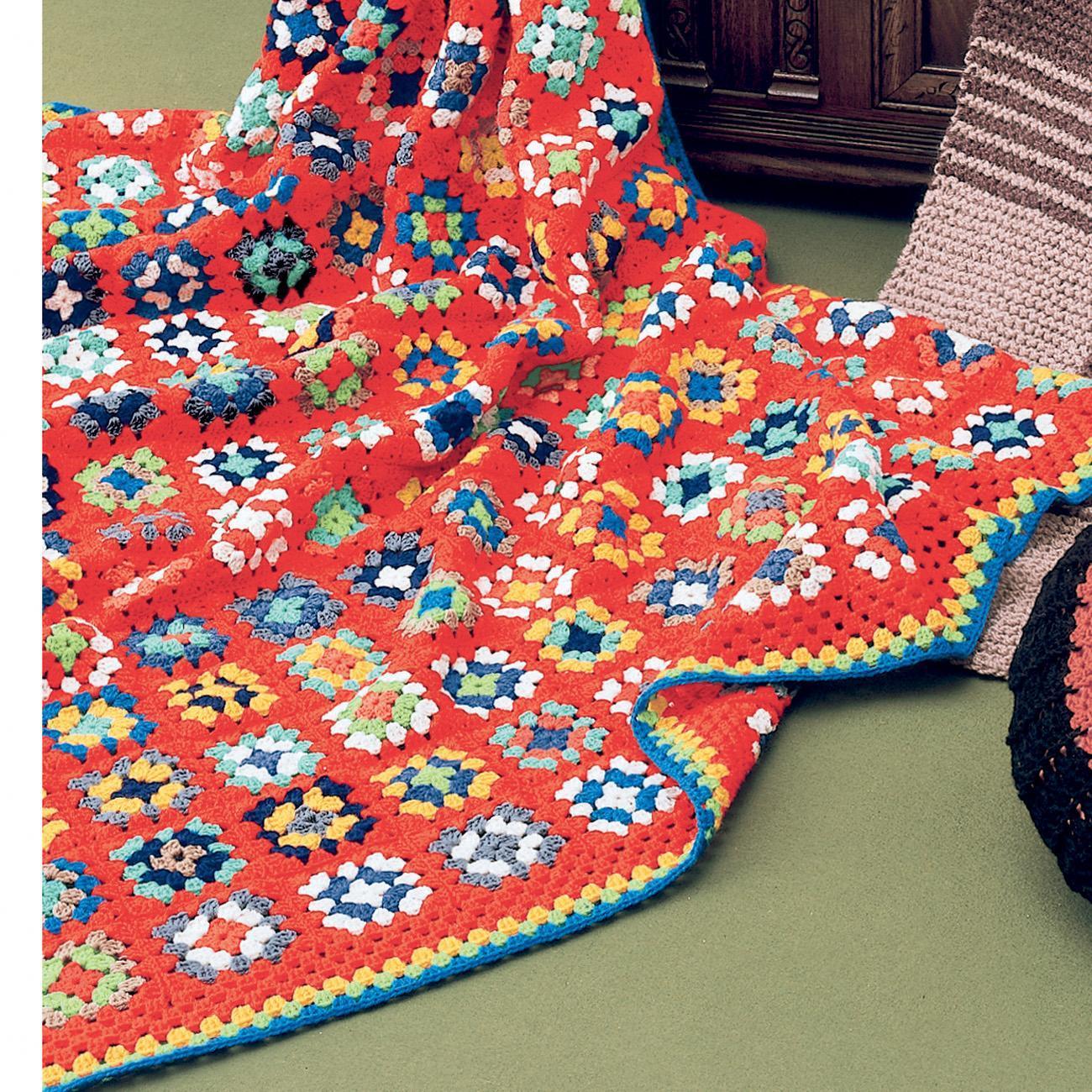 anleitung 228 6 geh kelte patchworkdecke aus poco von junghans wolle 10 versch farben. Black Bedroom Furniture Sets. Home Design Ideas