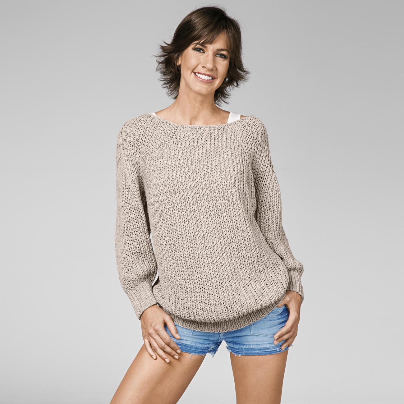 Простой женский свитер