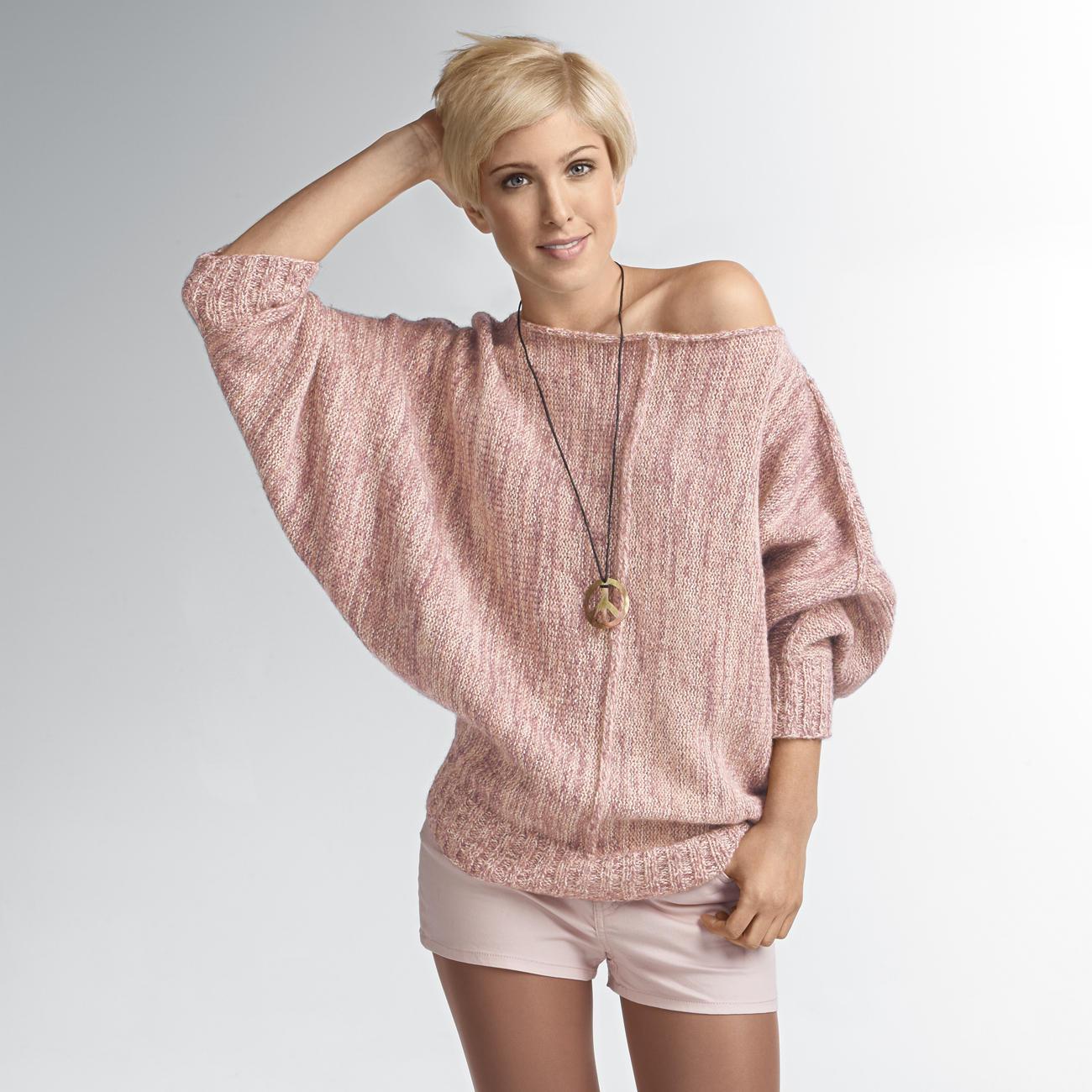 modell 266 3 poncho pullover aus inverno von junghans wolle damenpullover strickmodelle. Black Bedroom Furniture Sets. Home Design Ideas