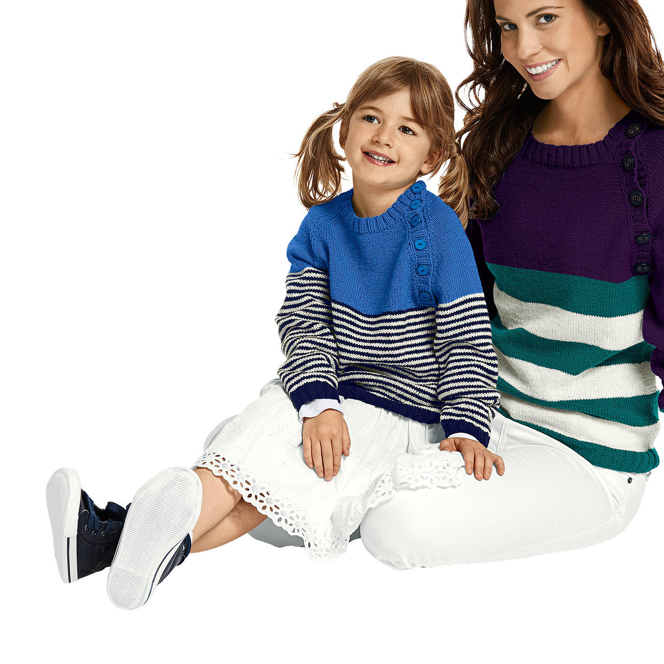 anleitung 259 4 a pullover aus merino supersoft von junghans wolle 3 versch farben. Black Bedroom Furniture Sets. Home Design Ideas