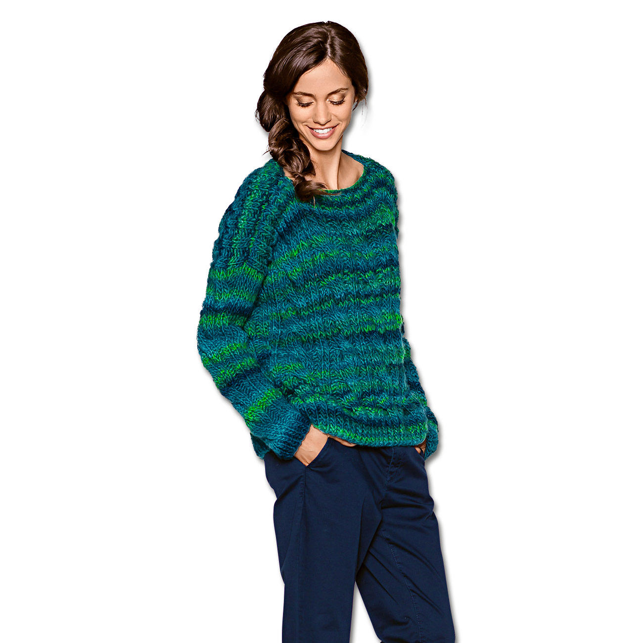 Modell 066 5 pullover aus colorida von junghans wolle 1 - Junghanns wolle ...