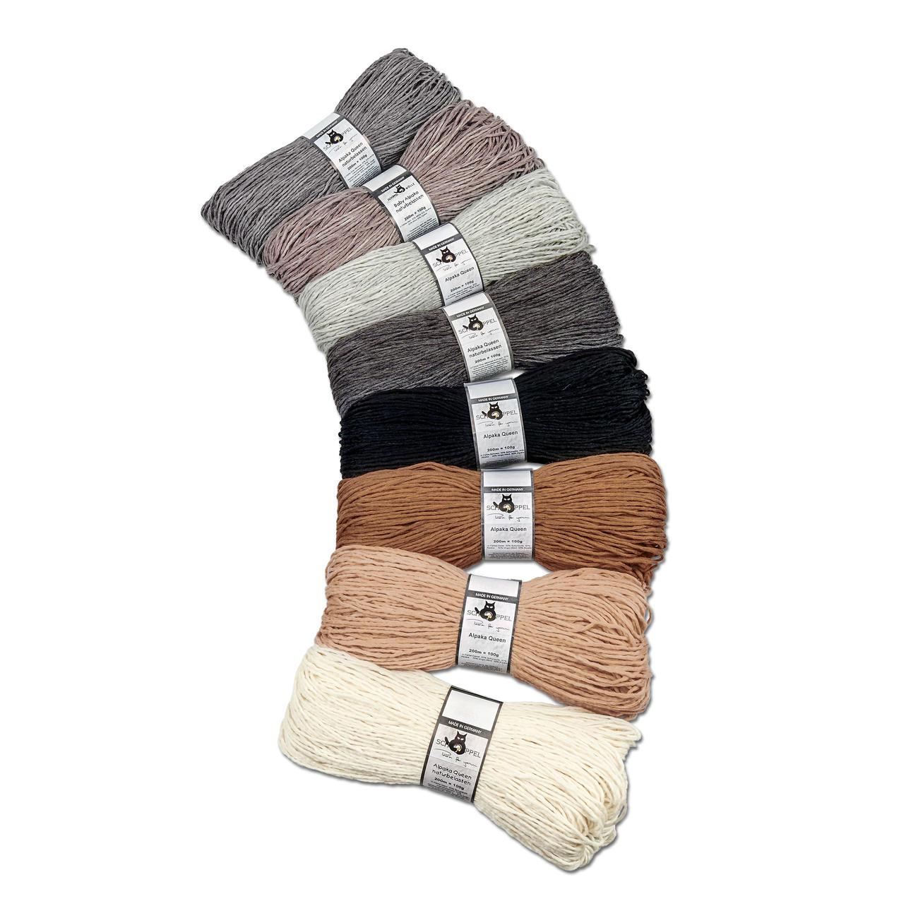 Alpaka Queen von Schoppel-Wolle, 8 versch. Farben