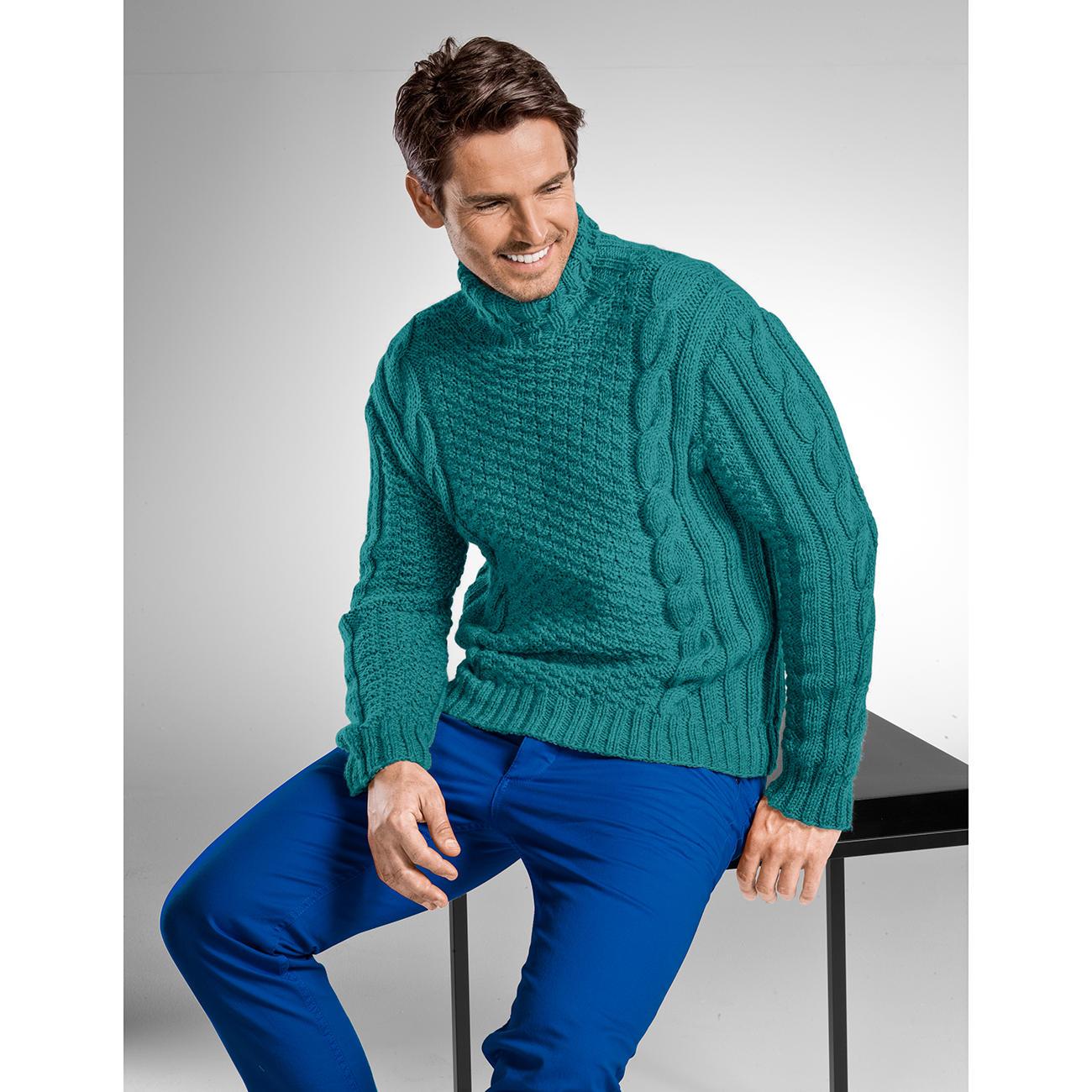 Genial Moderne Pullover Ideen Von Anleitung 265/6, Aus Uppland Von Junghans-wolle
