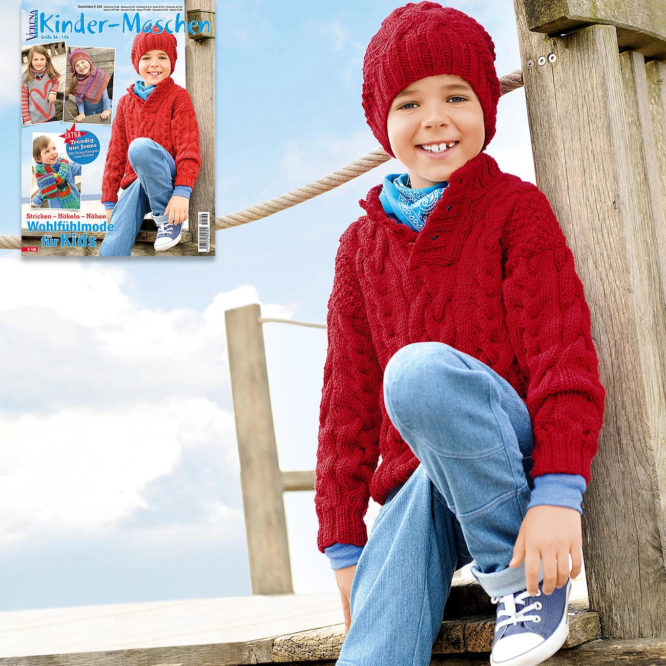 Anleitung 3066 Kinder Pullover Und Mütze Aus Merino Classic Von