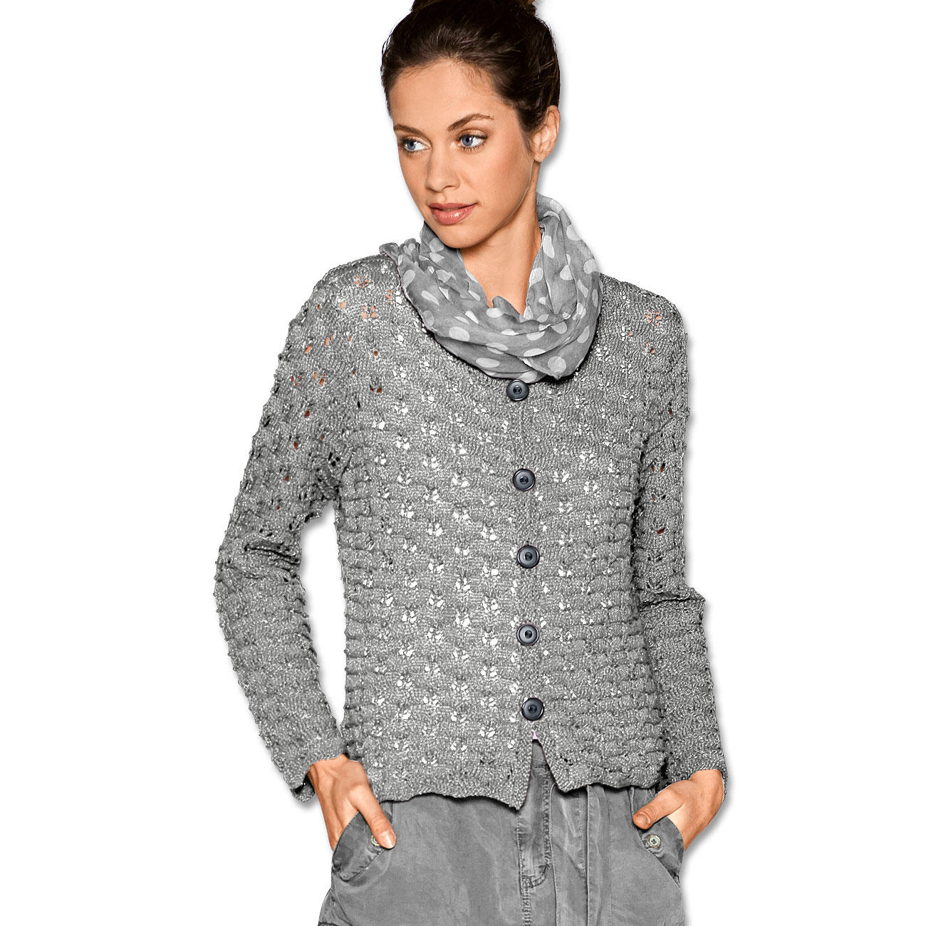 Anleitung 2427 Damen Jacke Aus Dacapo Von Junghans Wolle 1 Versch