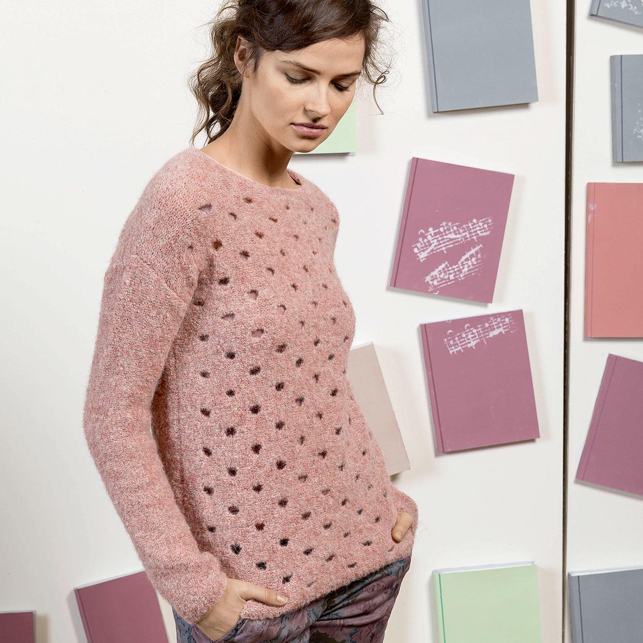 Anleitung 3517 Pullover Aus Passione Von Lang Yarns 1 Versch Farben