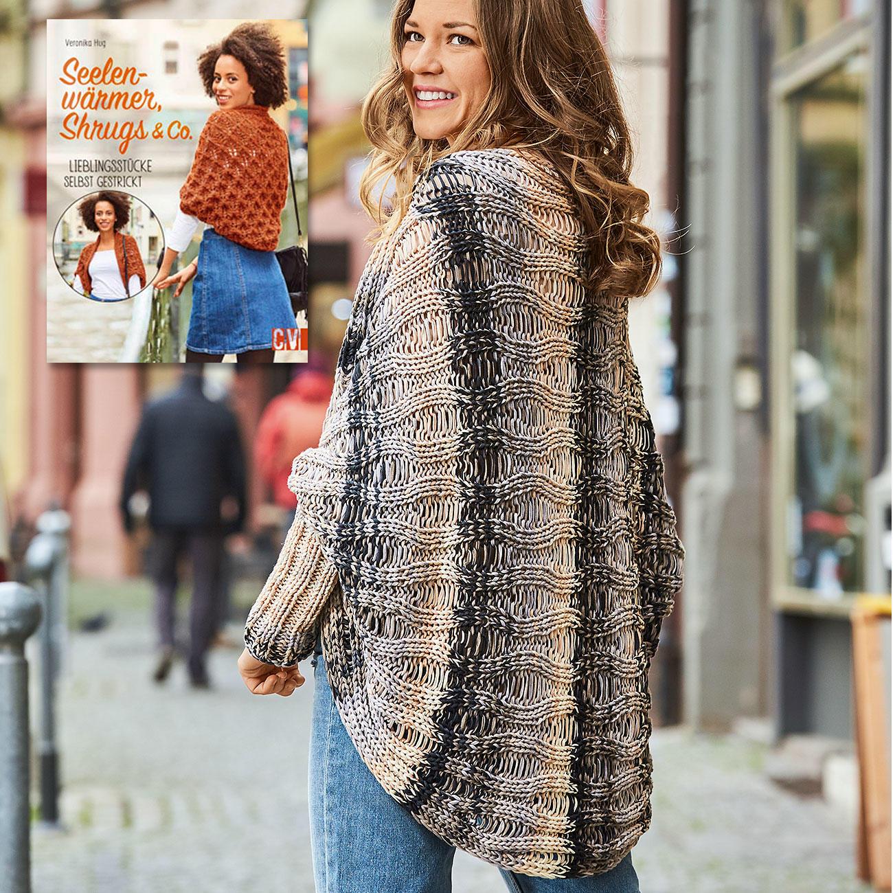 Anleitung 3717 Damen Jacke Aus Bandy Color Von Woolly Hugs 1