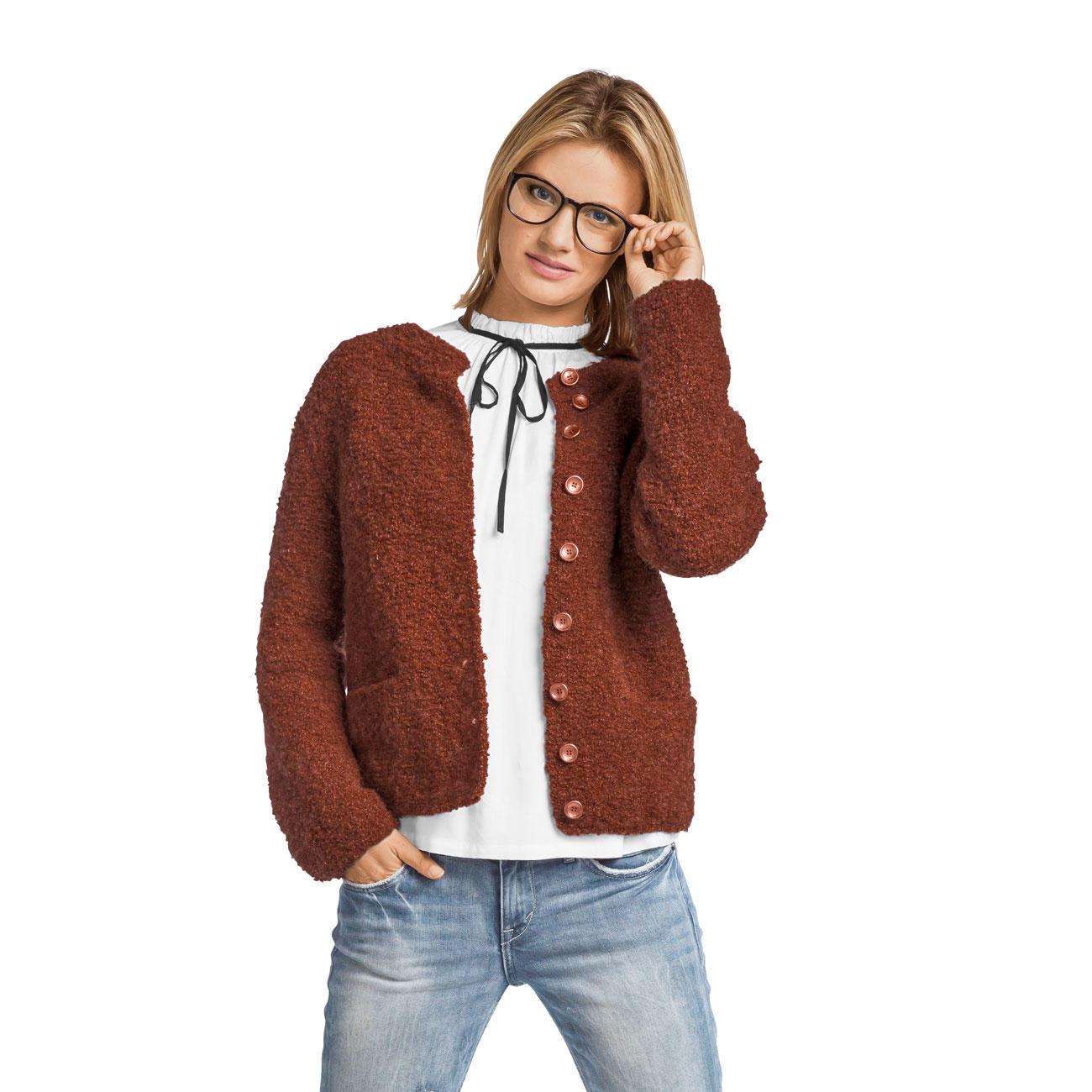 Anleitung 422/7, Damen Jacke aus Nordland® von Junghans-Wolle, 1 ...