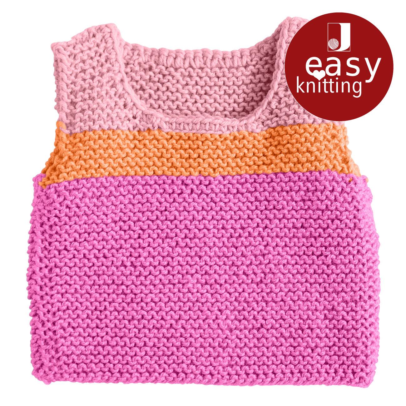 Anleitung 2968 Babypullunder Aus Merino Classic Von Junghans Wolle