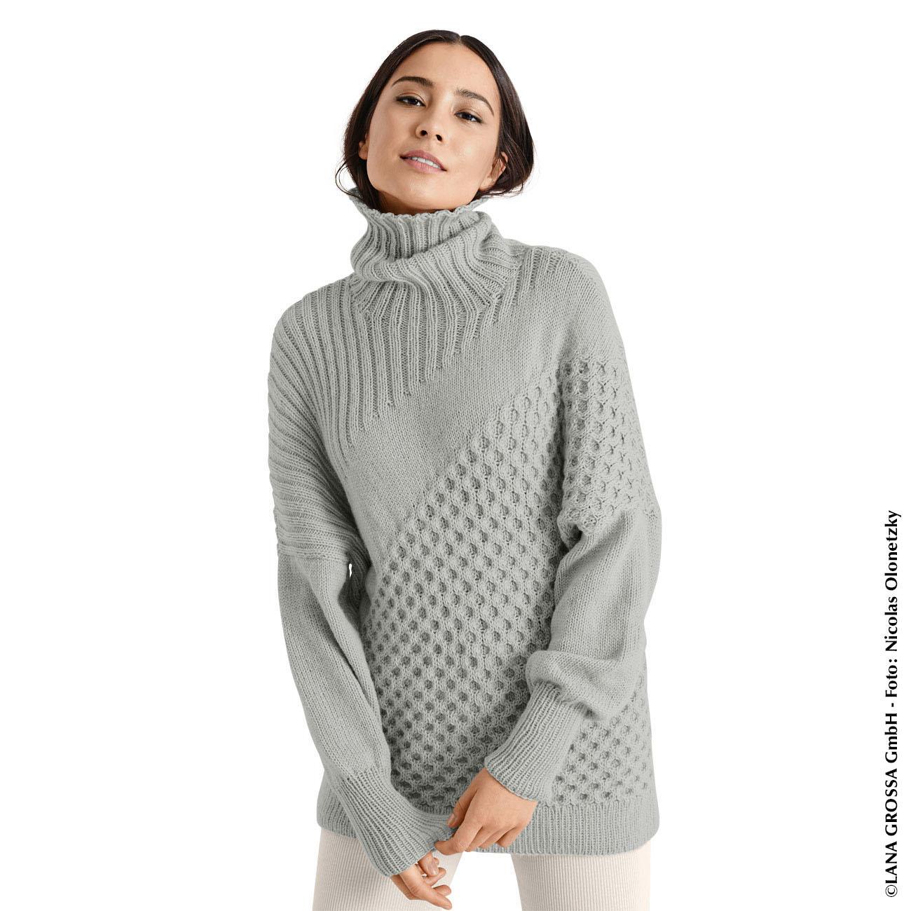 Anleitung 417/8, Pullover Aus Cool Wool Cashmere Von Lana