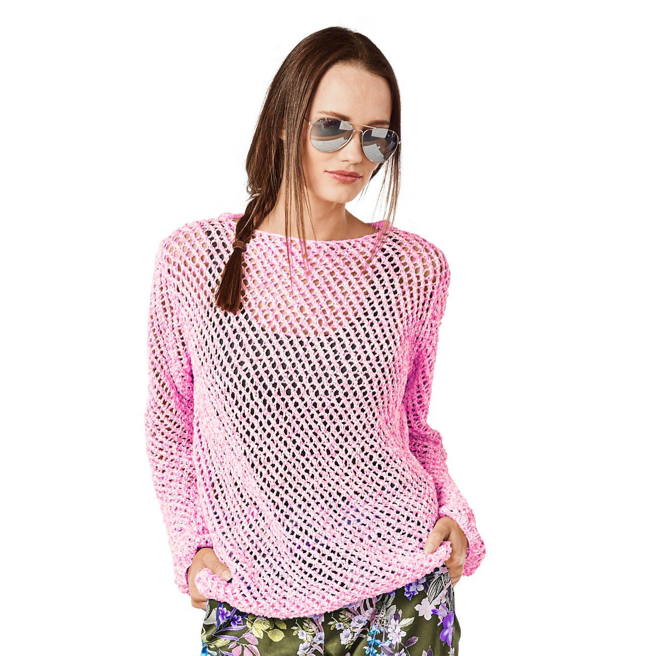 Anleitung 043 9 Pullover Aus Trevisa Von Junghans Wolle