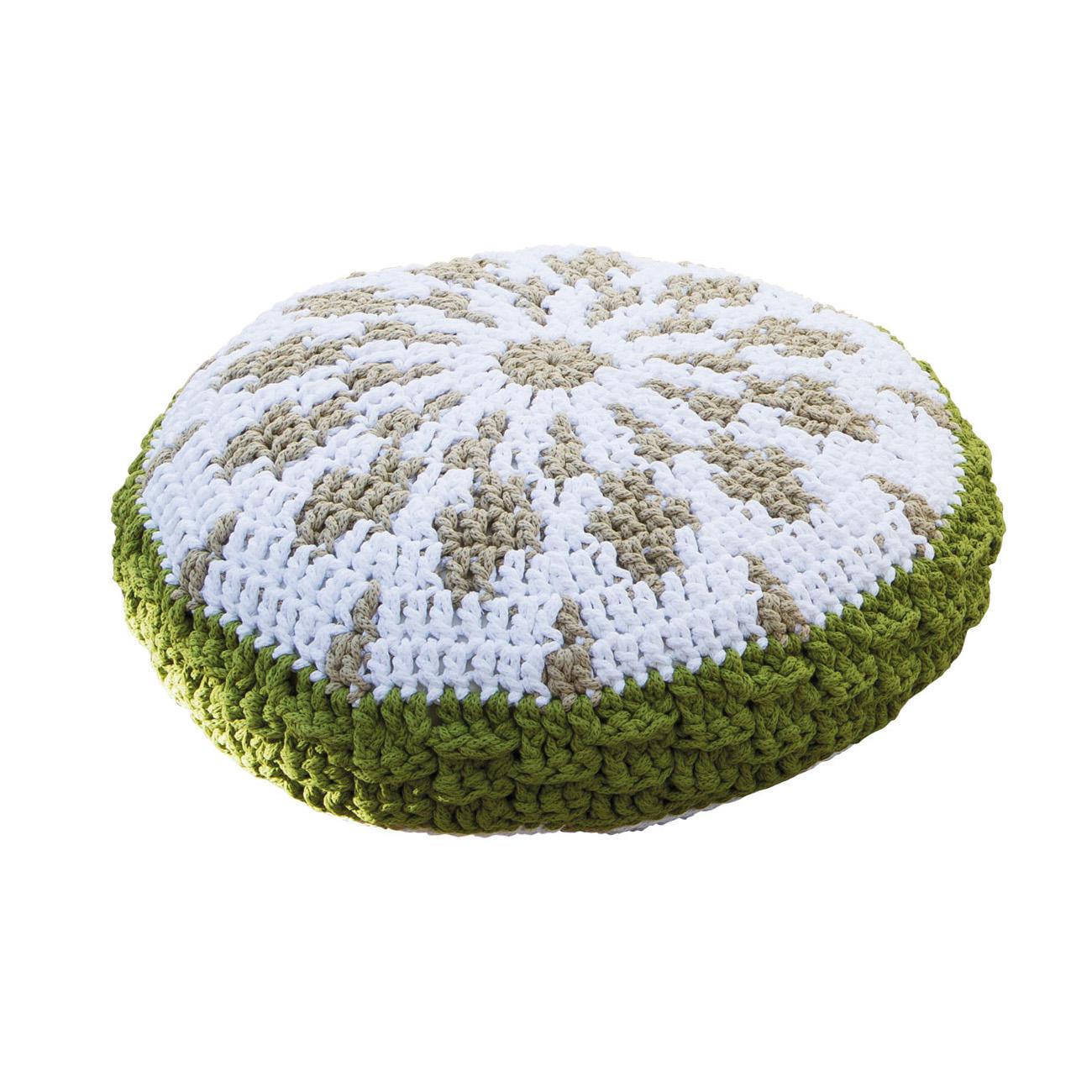 Anleitung 105 9 Sitzkissen Ca 60 Cm Hhe 12 Aus Scuby Cotton Von Katia