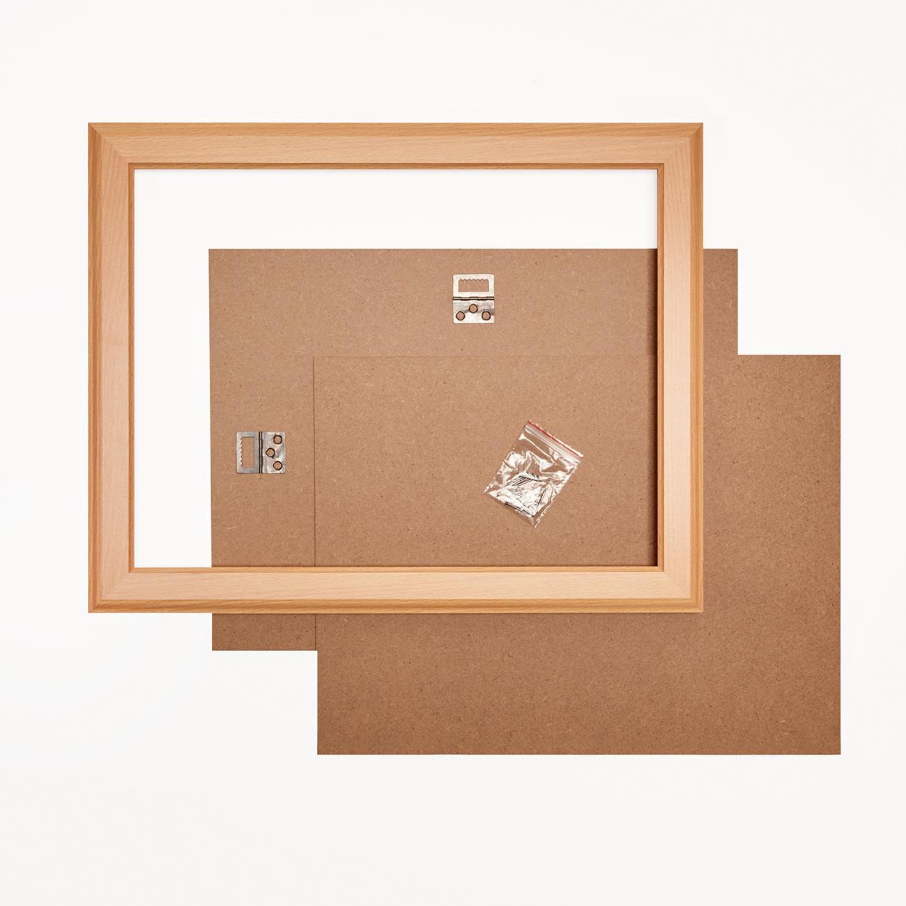 bilderrahmen buchefarben verschiedene gr en. Black Bedroom Furniture Sets. Home Design Ideas