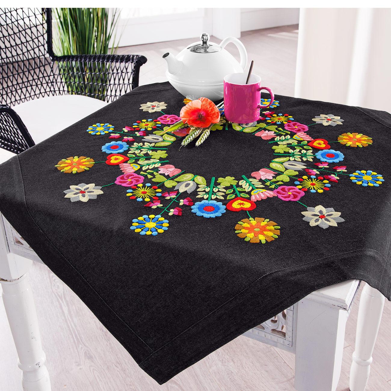 Tischdecken Modern tischdecke folklore