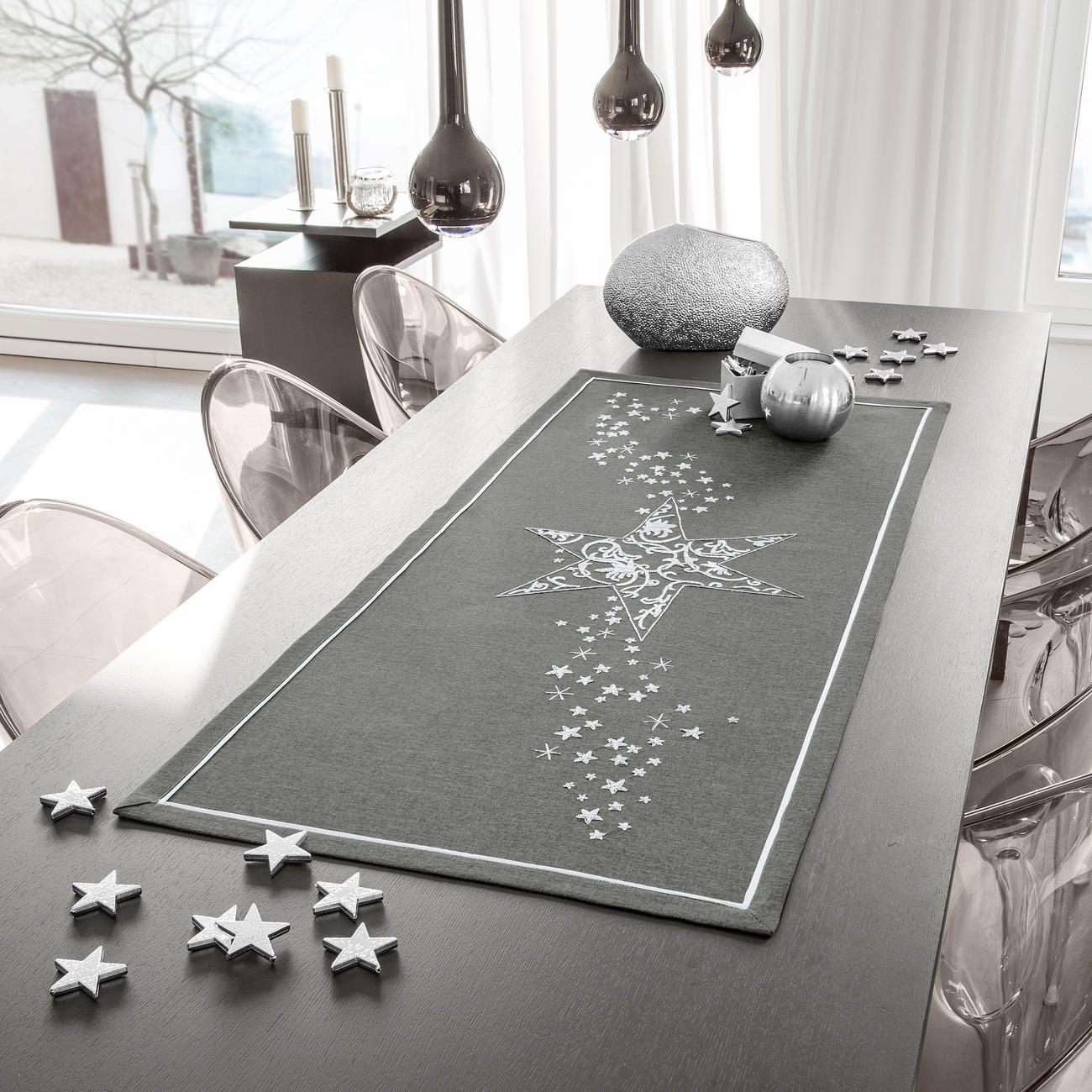 tischband l ufer oder decke weihnachtsmotive. Black Bedroom Furniture Sets. Home Design Ideas