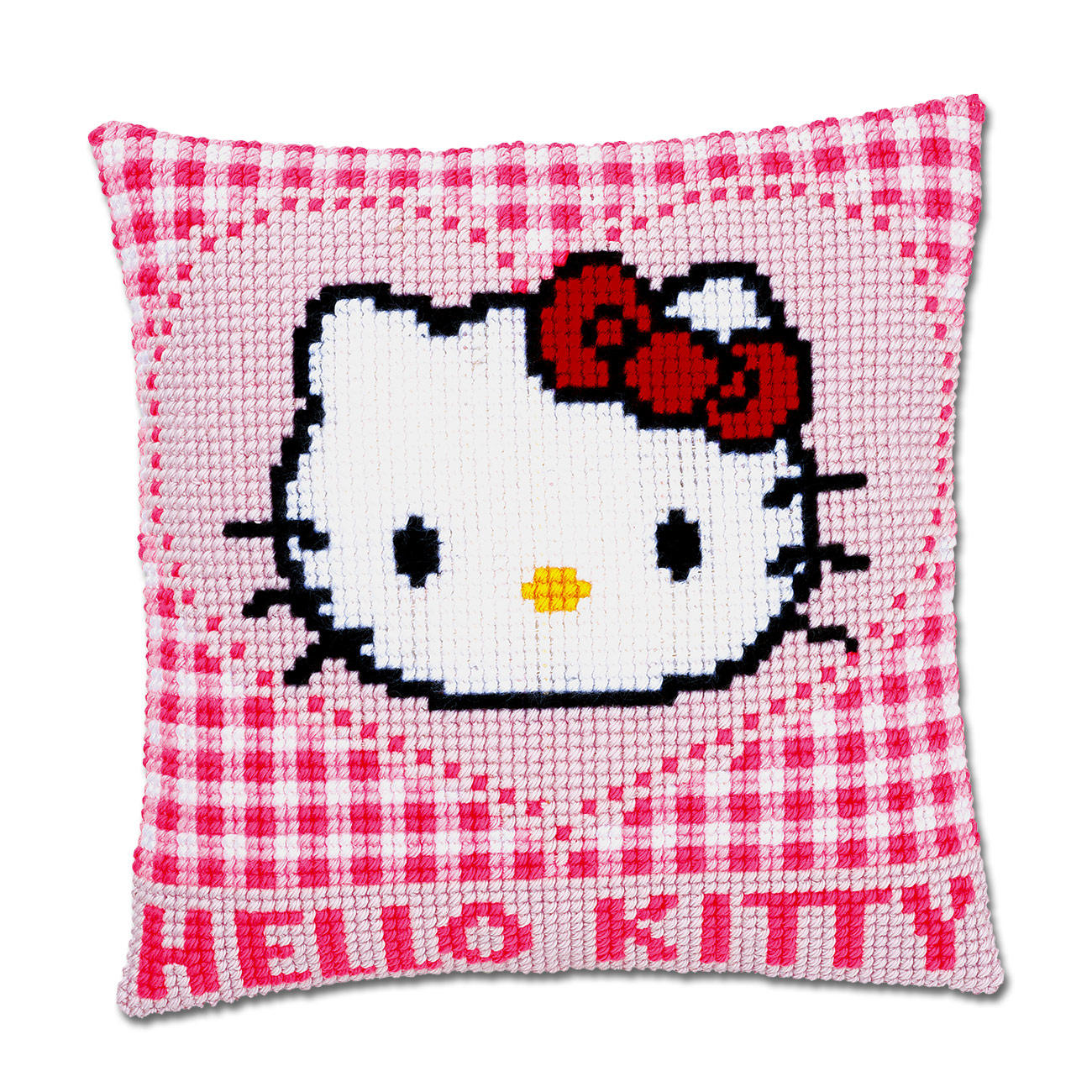 stickkissen hello kitty herz. Black Bedroom Furniture Sets. Home Design Ideas