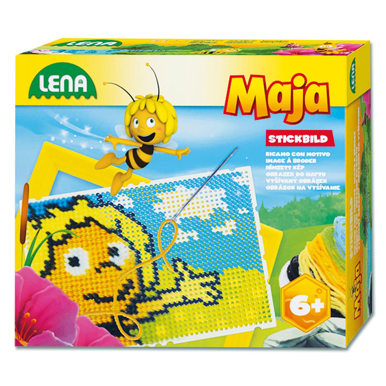 Kinderleichtes Motivsticken - Stickbilder Biene Maja