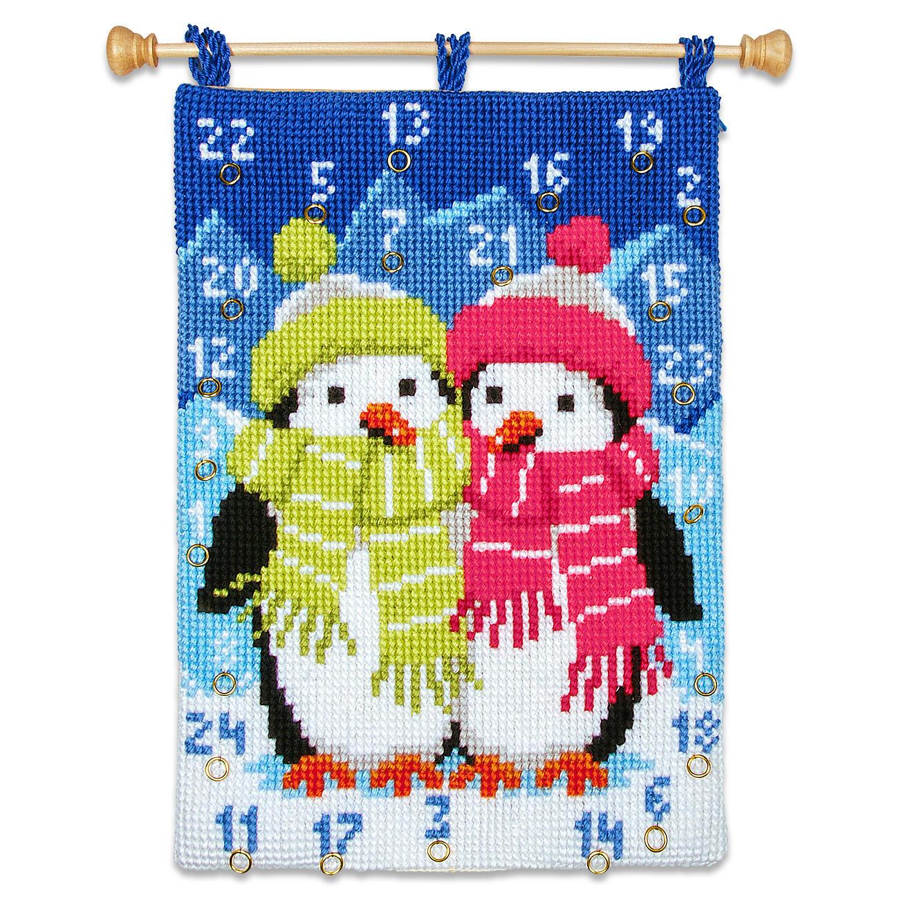 Adventskalender Pinguin
