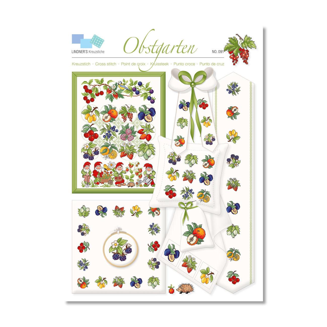 Kreuzstich Vorlage Kaktus Cactulia Puglia Plus 9