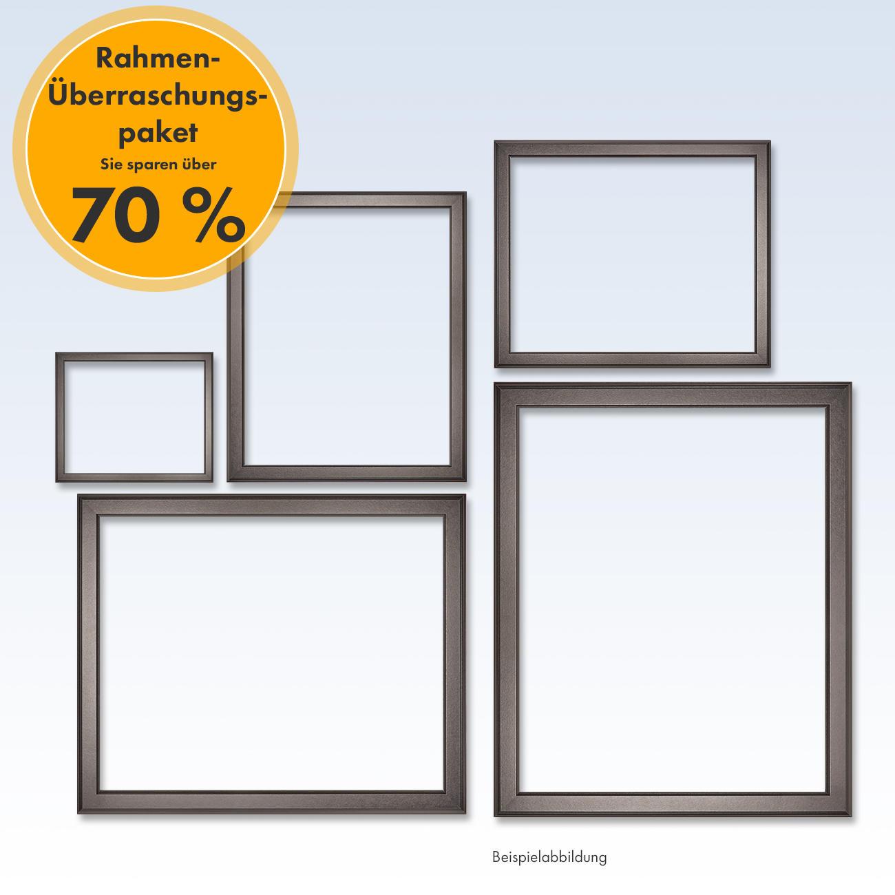 Rahmen-Überraschungspaket, Schwarz