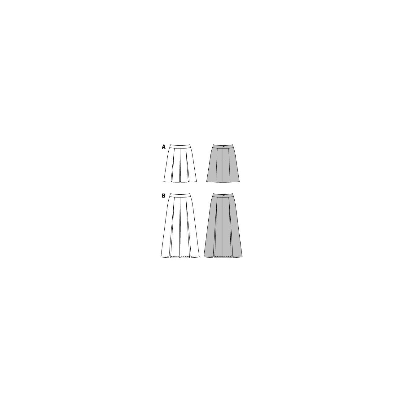 burda schnitt 6803 faltenrock. Black Bedroom Furniture Sets. Home Design Ideas