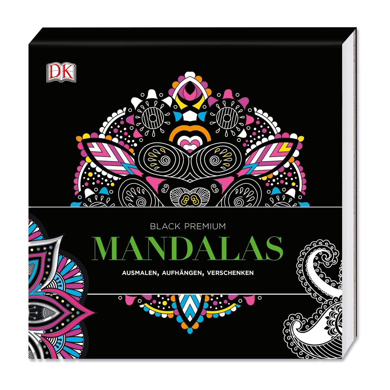 "Buch ""Black Premium – Mandalas"""