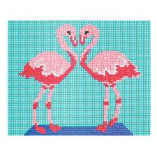 Ministeck - Flamingo Einzigartig detailreich, einzigartig abwechslungsreich: Mosaikbilder aus Ministeck